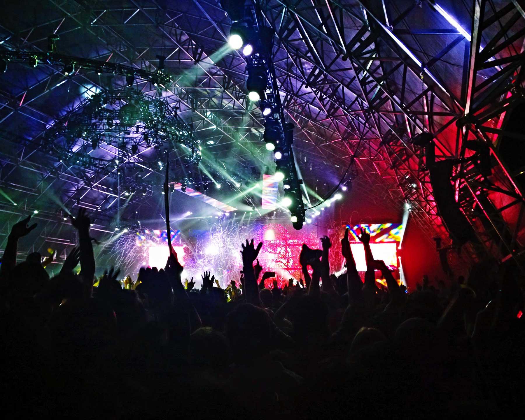 Iluminación para eventos y escenarios
